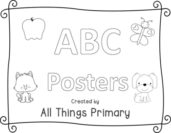 ABC Posters Black and White