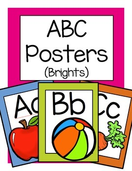 ABC Posters (Brights)