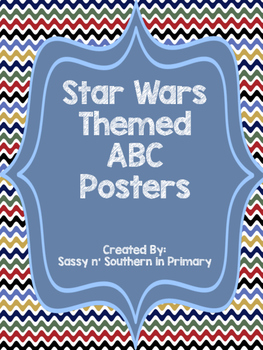 ABC Posters (Chevron matches other Star Wars products)