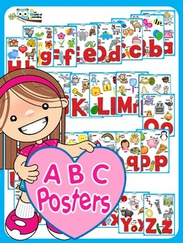 ABC Posters Flashcards