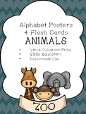 ABC Posters & Flashcards [ANIMALS]