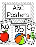 ABC Posters (Gray Chevron)