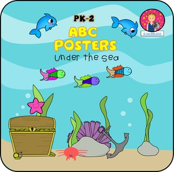 ABC Posters {Under the Sea Themed}