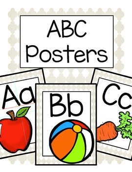 ABC Posters (White)