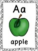 ABC Posters, Word Wall Headers, Classroom Library Labels