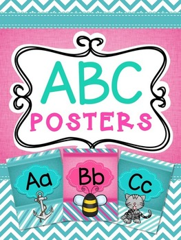 ABC Posters with Pictures