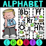 Alphabet Charts with Pictures