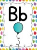 ABC Posters with Pictures {Bright Apples}