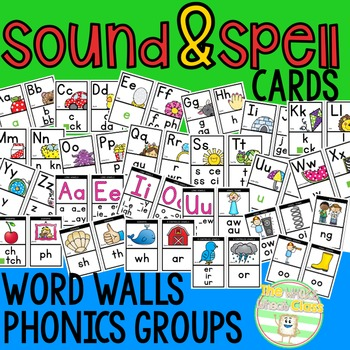 ABC Posters with Sounds and Spellings