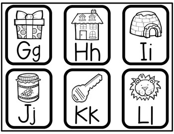 ABC Flashcard Printables