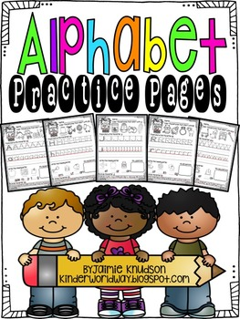 ABC Practice Pages: Common Core Aligned