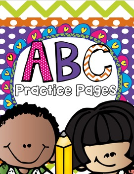 ABC Practice Pages (Uppercase and Lowercase) Bundle