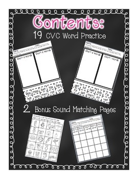 ABC Practice Pages for Kindergarten