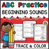ABC Practice Trace and Color Printables