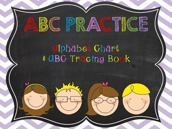 ABC Practice {Tracing Pages}