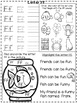 ABC Practice and Review Worksheets!