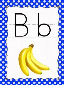 ABC Print Alphabet Posters