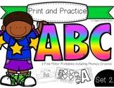 Print and Practice: ABC Set 2