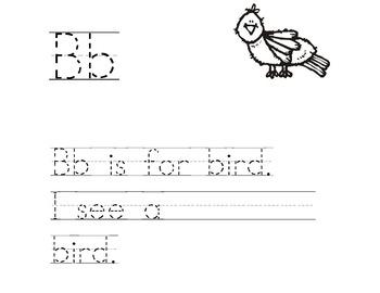 ABC Printing Practice