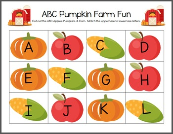 ABC Pumpkin Farm Fun