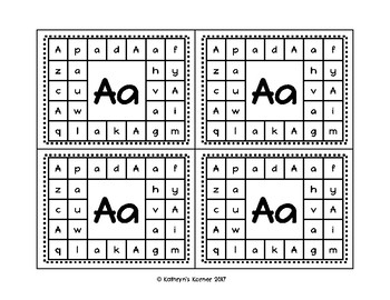 ABC Punch Cards