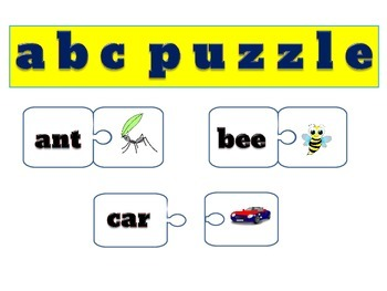 #blackfridaydollardeals ABC Puzzle
