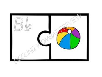 Alphabet ABC Puzzles