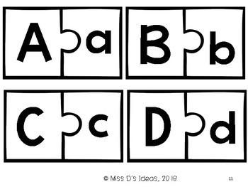 Alphabet Puzzle Center