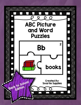 ABC Puzzles Back to School Edition