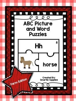ABC Puzzles Farm Edition