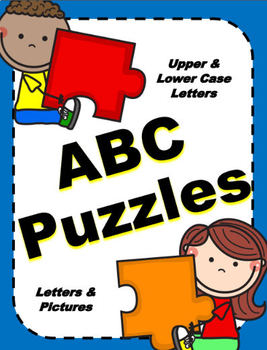 ABC Puzzles - Letter Learning FUN!