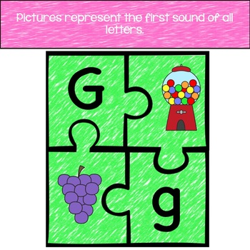ABC Puzzles Matching First Sounds