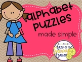 ABC Puzzles: Puzzles Made Simple