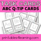 Fine Motor Task Cards: ABC Q-Tip Pack