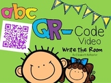 QR Code ABC Video Write the Room