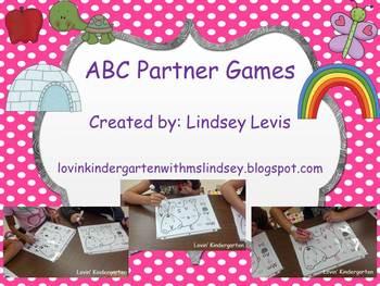 ABC RTI Teacher Led/Partner Games