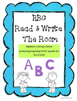 ABC Read & Write The Room!