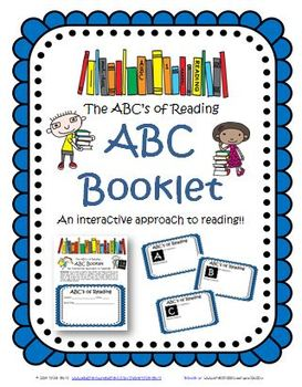 ABC Reading Booklet Activity: Citing Text for Fiction (Aligned to CCSS)
