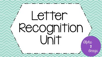 ABC Recognition Unit for Life Skills and Autism Classrooms