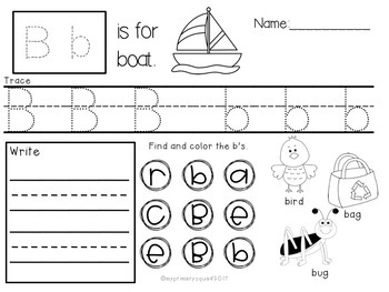 ABC Recognition Packet