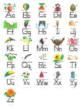 ABC Reference Sheet Print