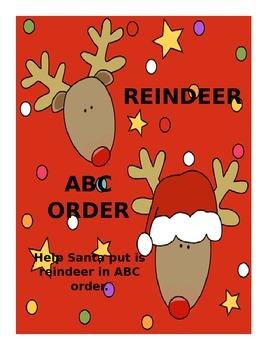 ABC Reindeer