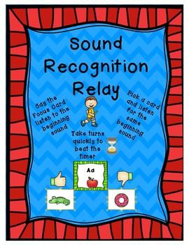 Beginning Relay Sound Race