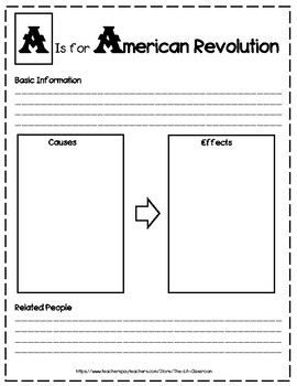 ABC Research Project for Events in U.S. History