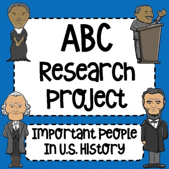 ABC Research Project for People in U.S. History