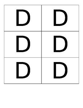 ABC Response Flip Cards Quick Assessment