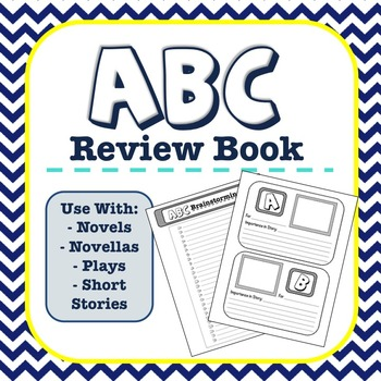 ABC Review Book for ELA