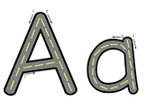 ABC Road Letters