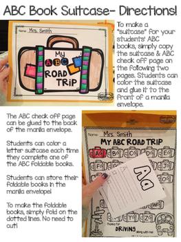 Alphabet Books {Fold & Read}