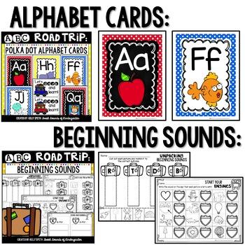 Alphabet Bundle {ABC Road Trip Bundle}